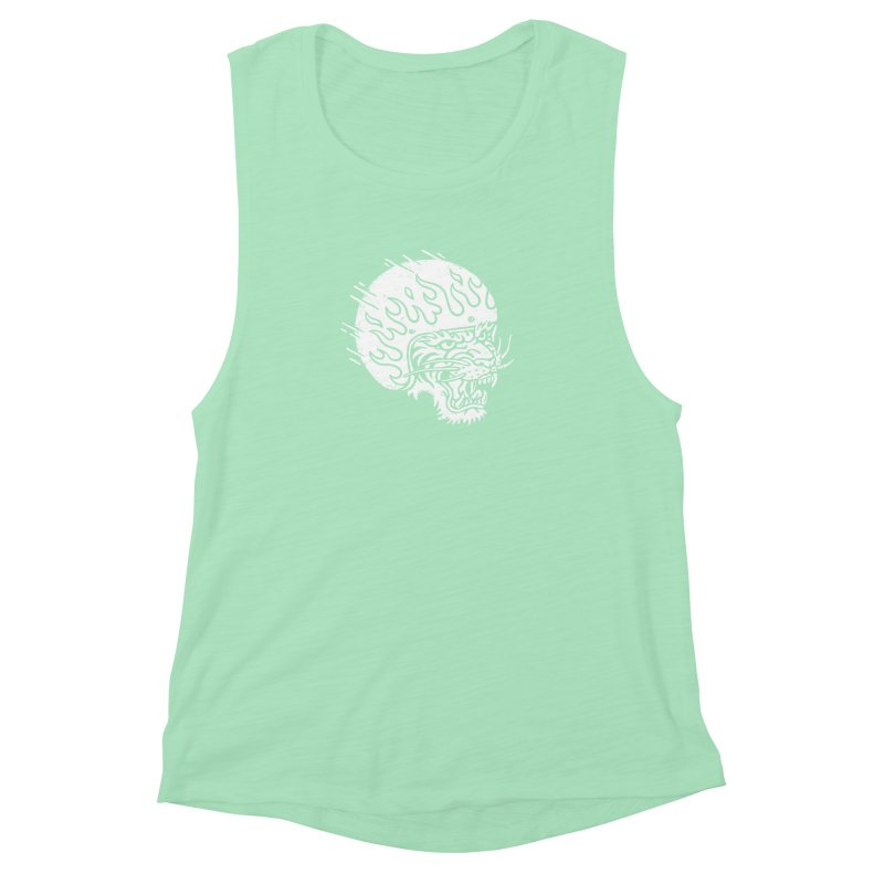 Speed Tiger Women's Muscle Tank by Ben Harman Design