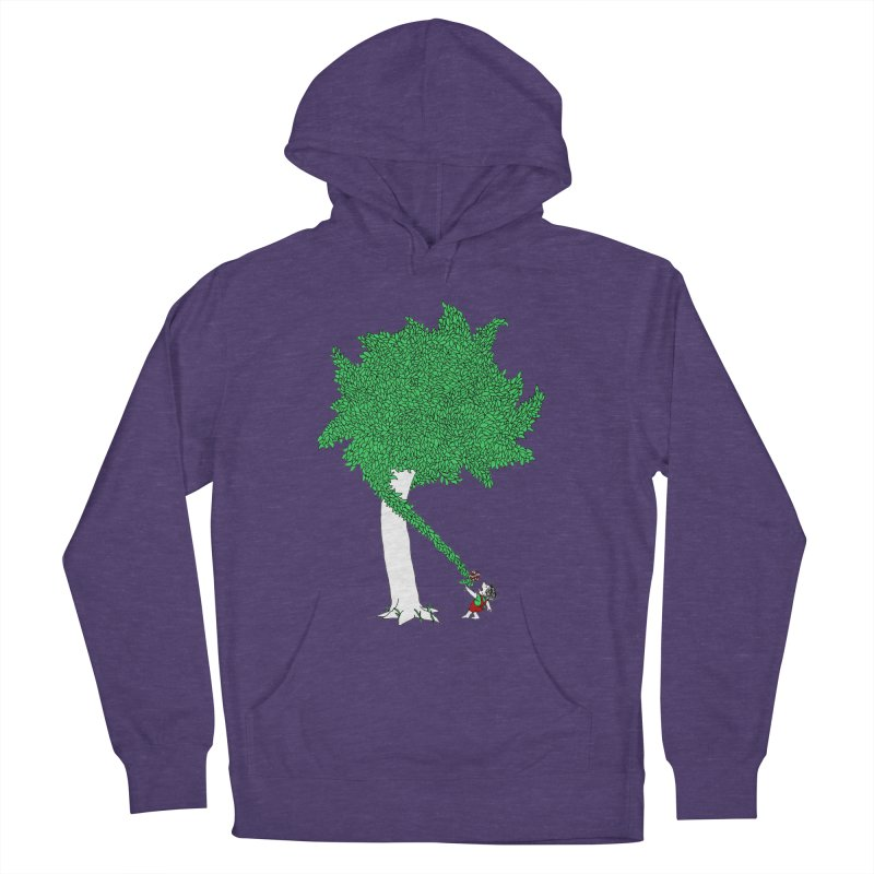 The Taking Tree Women's French Terry Pullover Hoody by Ben Harman Design