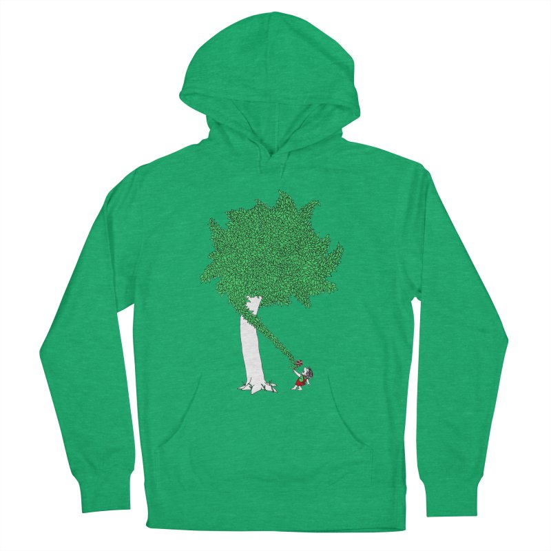 The Taking Tree Men's Pullover Hoody by Ben Harman Design