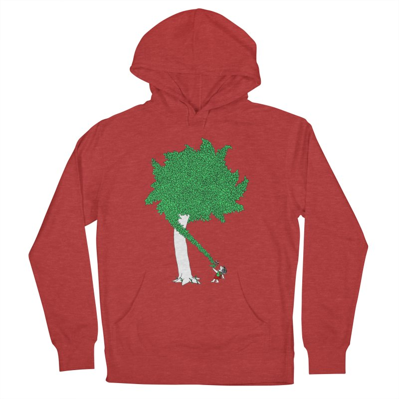 The Taking Tree Men's French Terry Pullover Hoody by Ben Harman Design