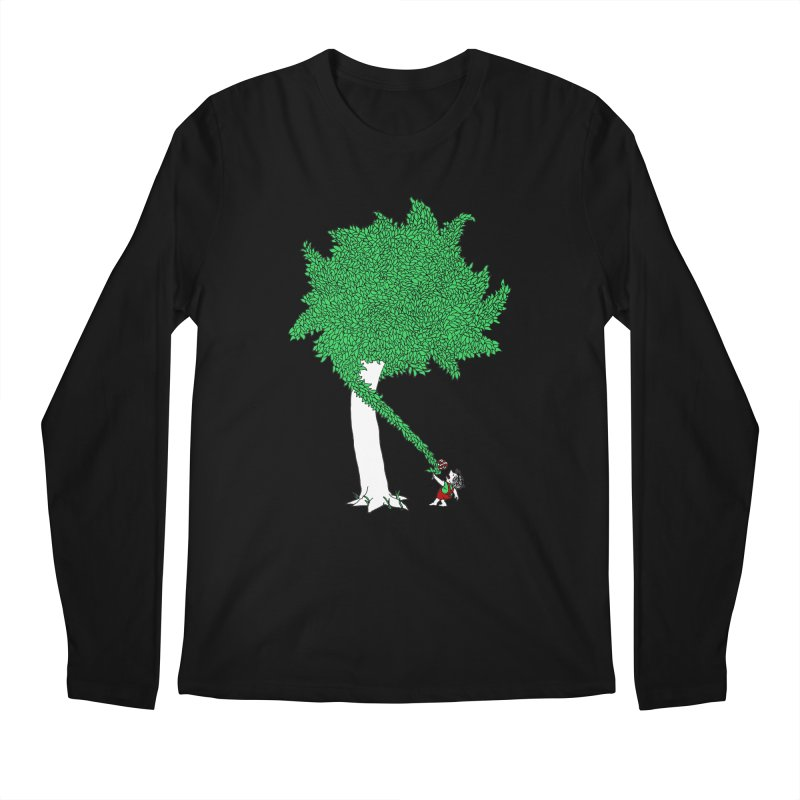 The Taking Tree Men's Regular Longsleeve T-Shirt by Ben Harman Design