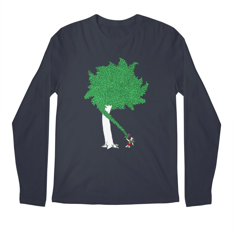 The Taking Tree Men's Longsleeve T-Shirt by Ben Harman Design