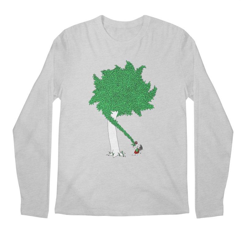 The Taking Tree Men's Regular Longsleeve T-Shirt by Ben Harman Design