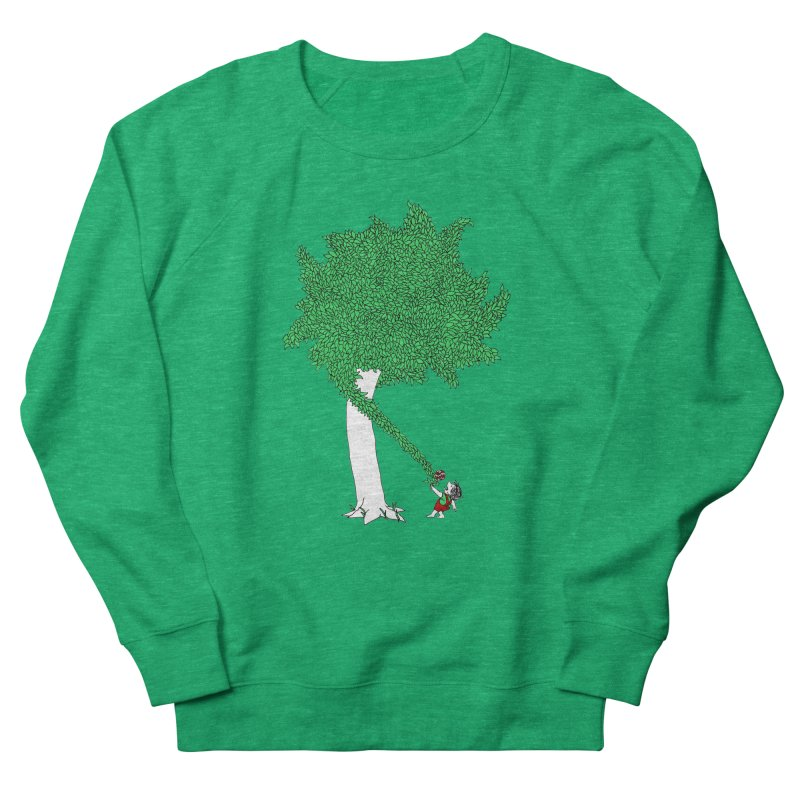 The Taking Tree Women's French Terry Sweatshirt by Ben Harman Design