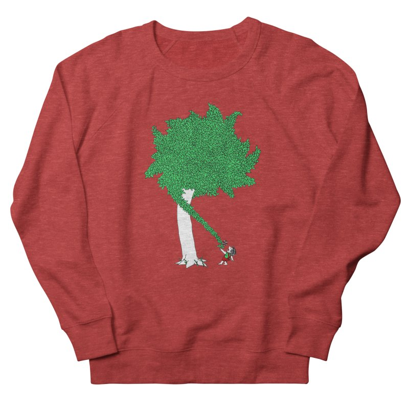 The Taking Tree Men's French Terry Sweatshirt by Ben Harman Design