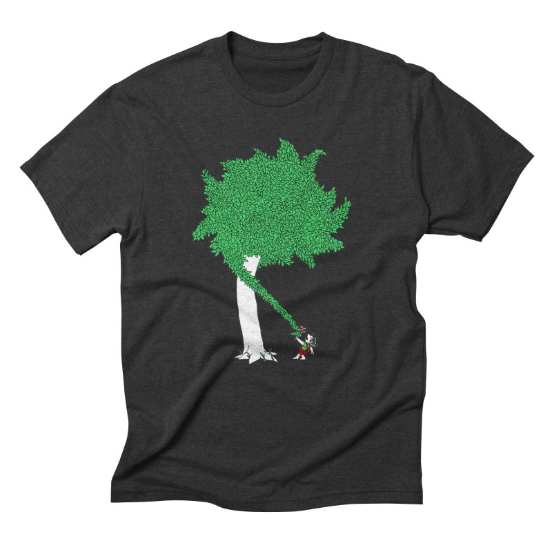 The Taking Tree Men's Triblend T-shirt by Ben Harman Design