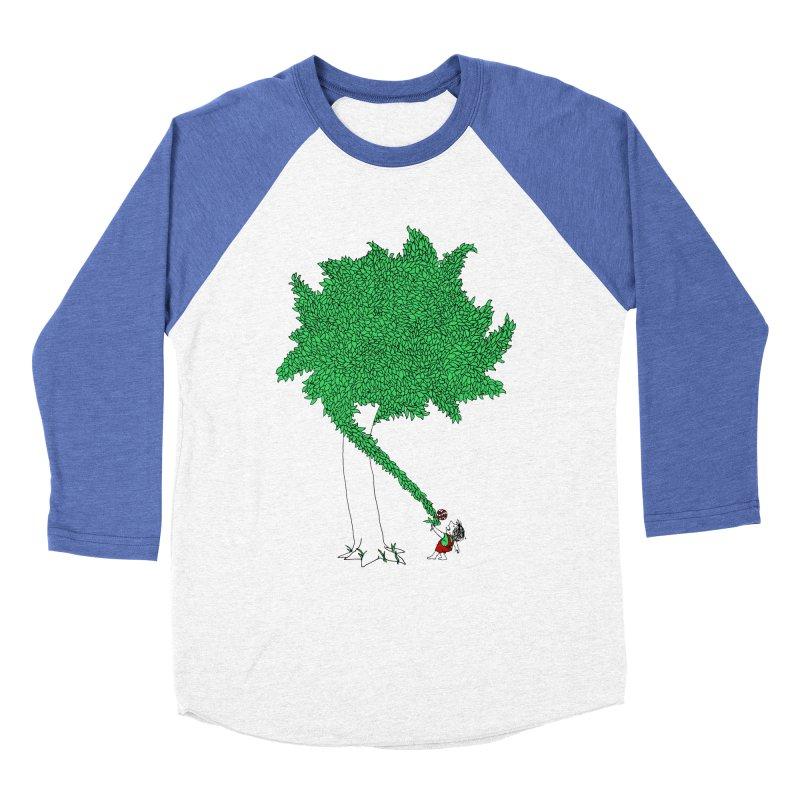 The Taking Tree Women's Baseball Triblend T-Shirt by Ben Harman Design