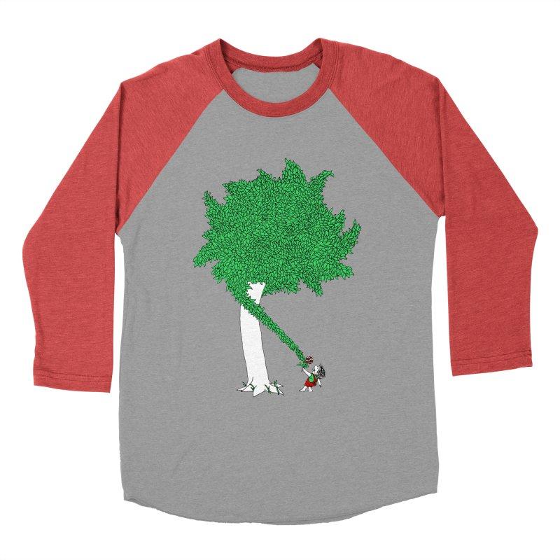 The Taking Tree Women's Baseball Triblend Longsleeve T-Shirt by Ben Harman Design