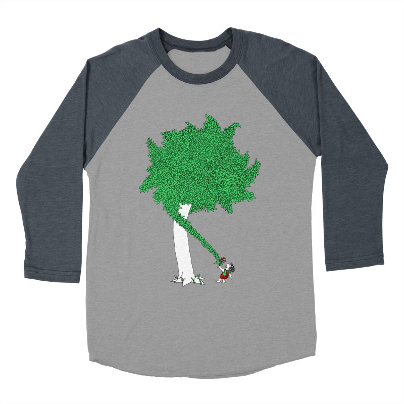 The Taking Tree Women's Baseball Triblend Longsleeve T-Shirt by Ben Harman Design