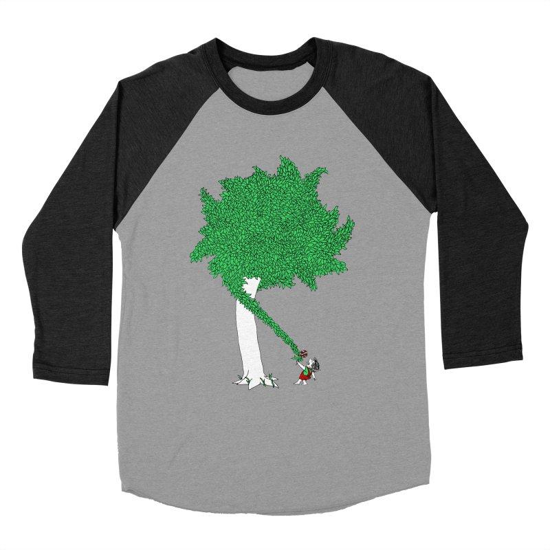 The Taking Tree Men's Baseball Triblend Longsleeve T-Shirt by Ben Harman Design
