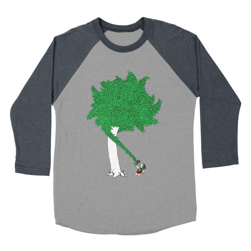 The Taking Tree Men's Baseball Triblend T-Shirt by Ben Harman Design