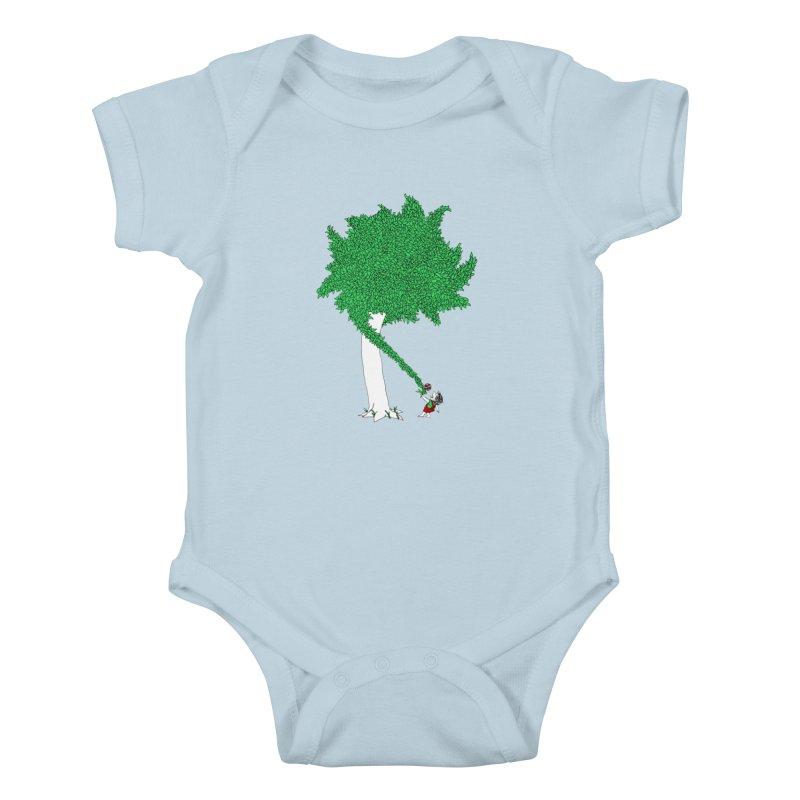 The Taking Tree Kids Baby Bodysuit by Ben Harman Design