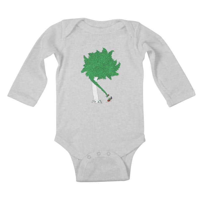 The Taking Tree Kids Baby Longsleeve Bodysuit by Ben Harman Design