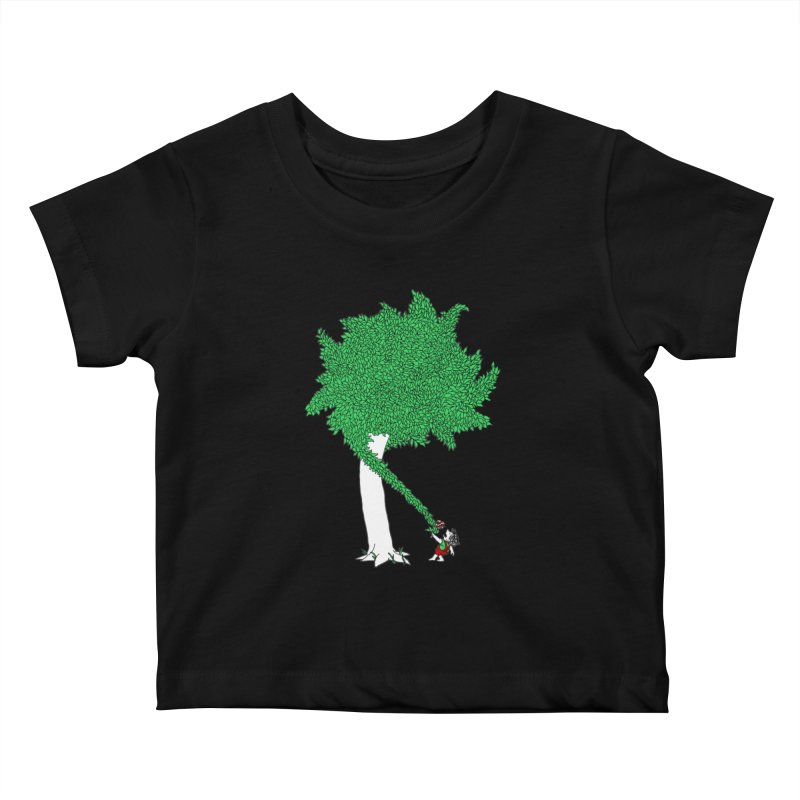 The Taking Tree Kids Baby T-Shirt by Ben Harman Design