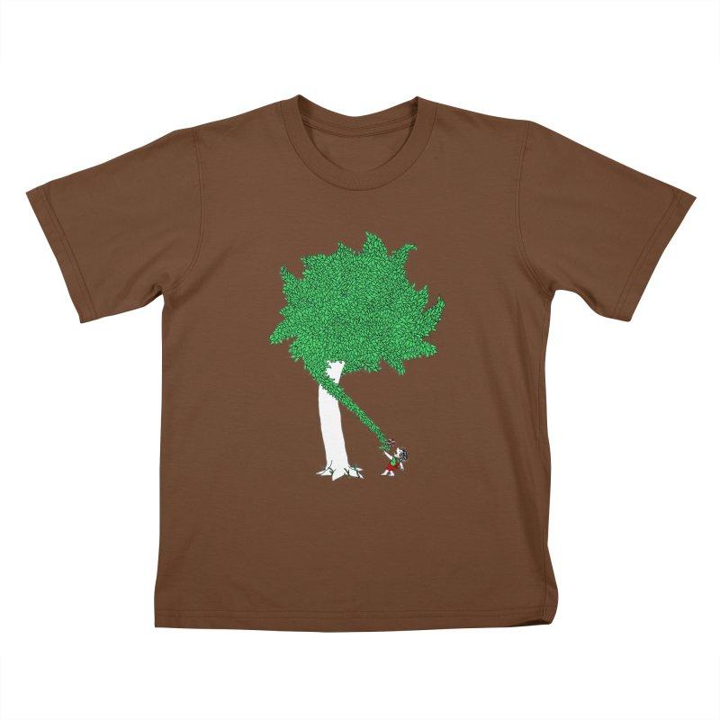 The Taking Tree Kids T-Shirt by Ben Harman Design