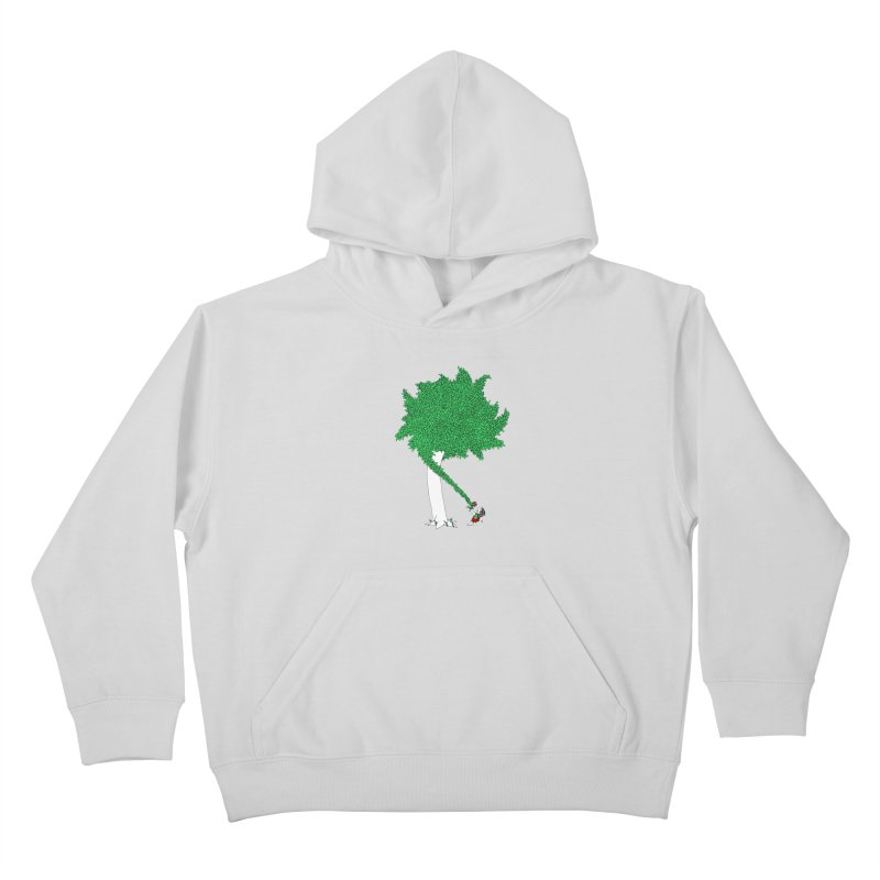 The Taking Tree Kids Pullover Hoody by Ben Harman Design