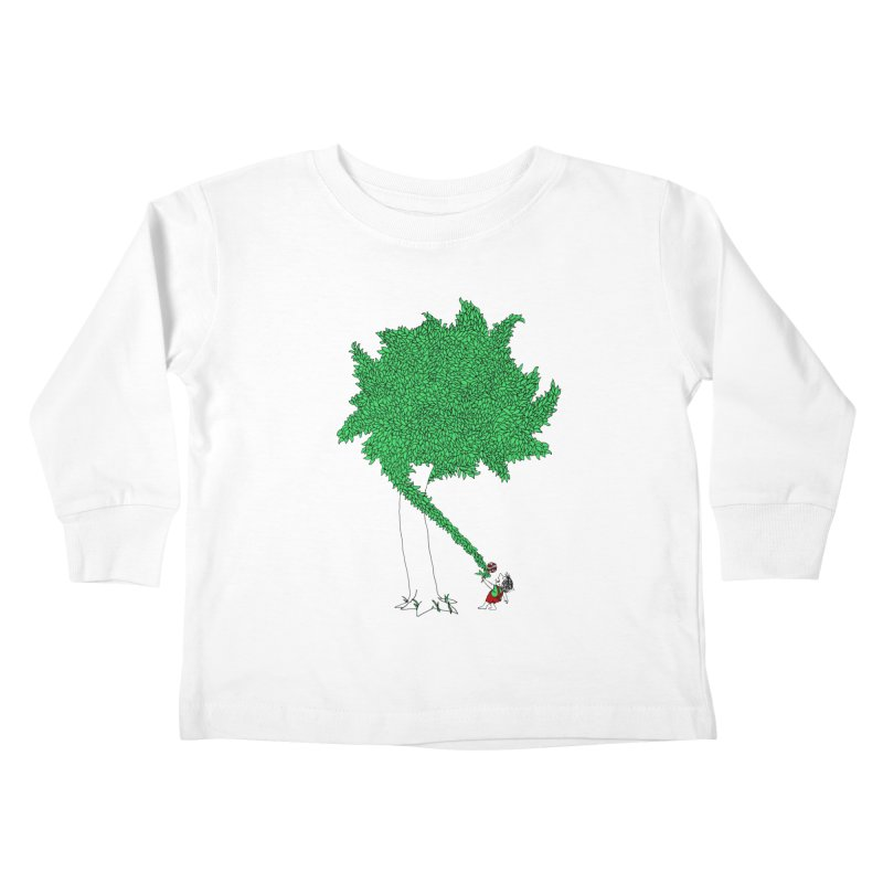 The Taking Tree Kids Toddler Longsleeve T-Shirt by Ben Harman Design