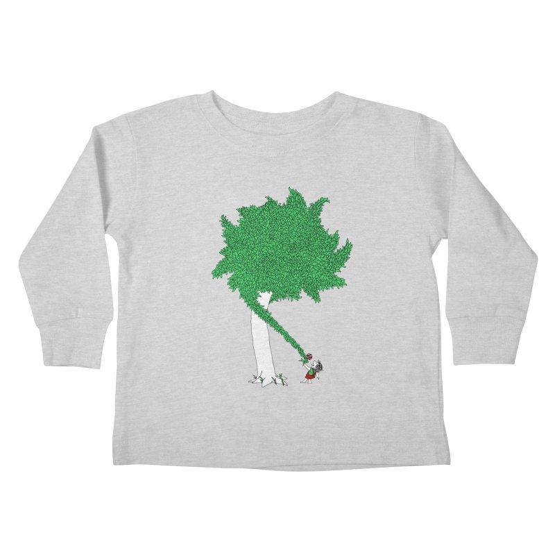 The Taking Tree Kids Toddler Longsleeve T-Shirt by Ben Harman Design