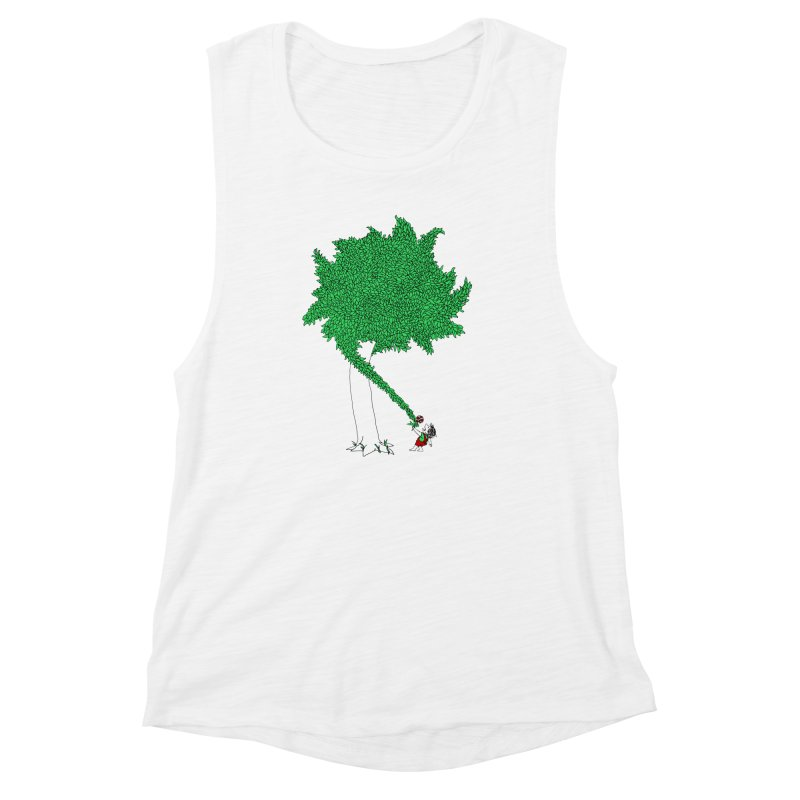 The Taking Tree Women's Muscle Tank by Ben Harman Design
