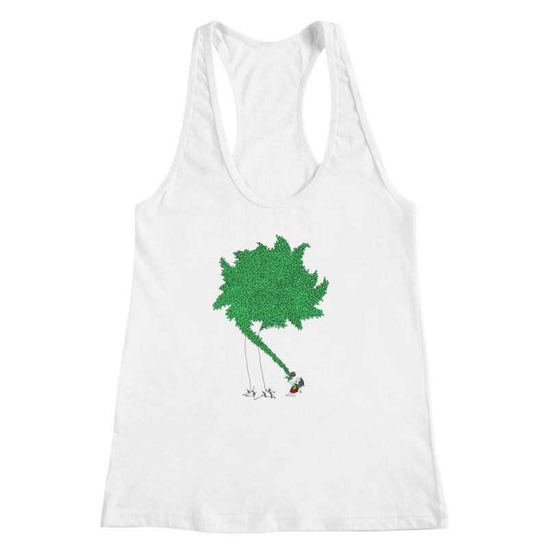 The Taking Tree Women's Racerback Tank by Ben Harman Design