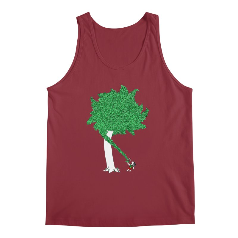 The Taking Tree Men's Regular Tank by Ben Harman Design