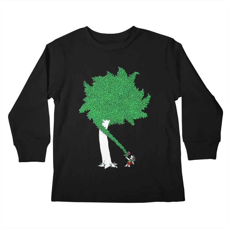 The Taking Tree Kids Longsleeve T-Shirt by Ben Harman Design