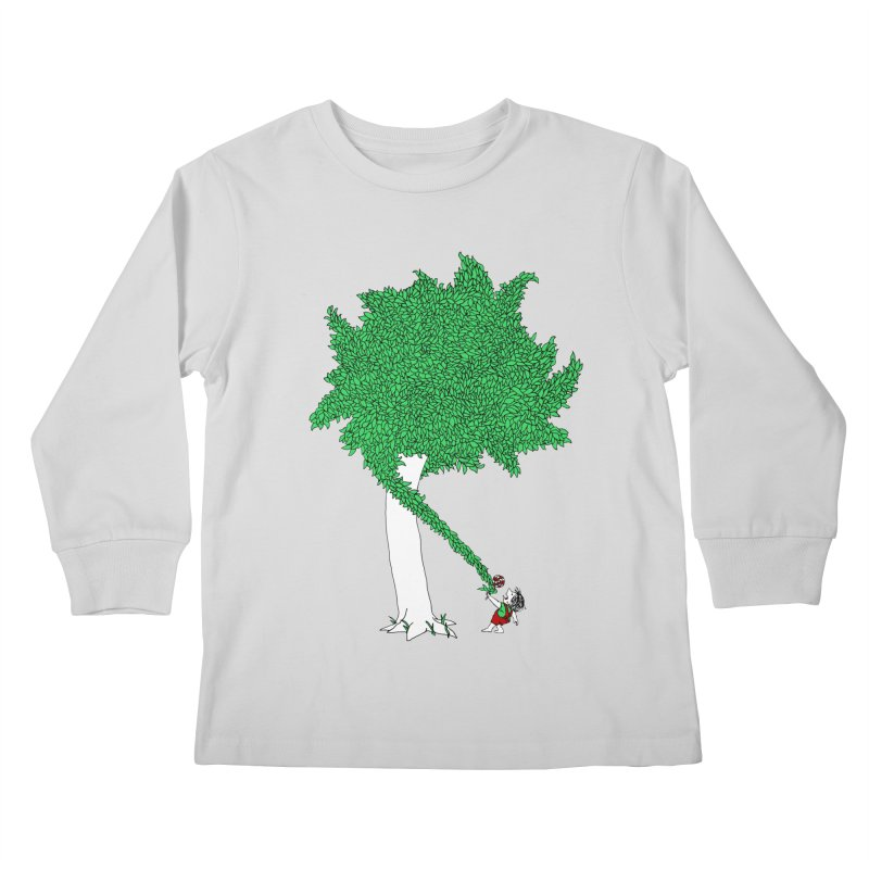 The Taking Tree Kids Longsleeve T-Shirt by Ben Harman Design