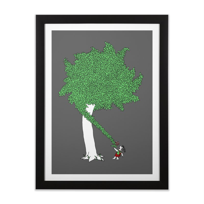 The Taking Tree Home Framed Fine Art Print by Ben Harman Design