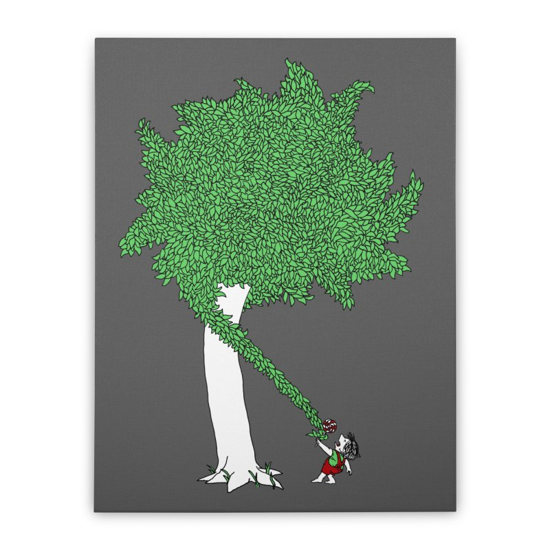 The Taking Tree Home Stretched Canvas by Ben Harman Design