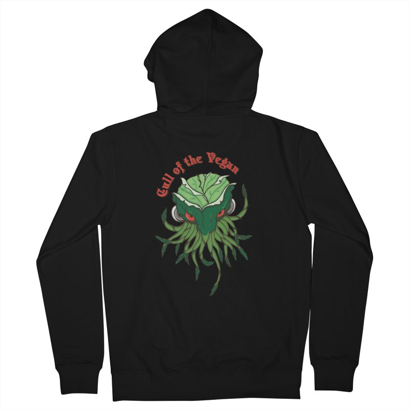 Cull of the Vegan Men's Zip-Up Hoody by Ben's Shirt Shop of AwesomeShop