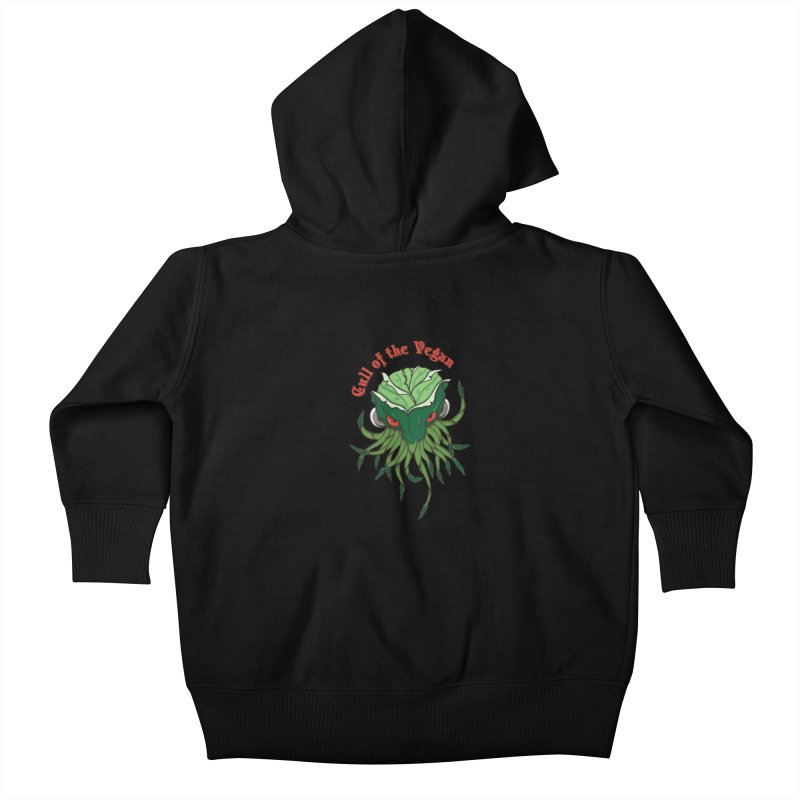 Cull of the Vegan Kids Baby Zip-Up Hoody by Ben's Shirt Shop of AwesomeShop