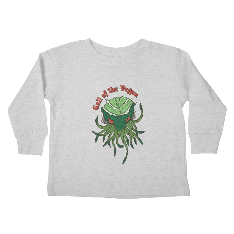 Cull of the Vegan Kids Toddler Longsleeve T-Shirt by Ben's Shirt Shop of AwesomeShop