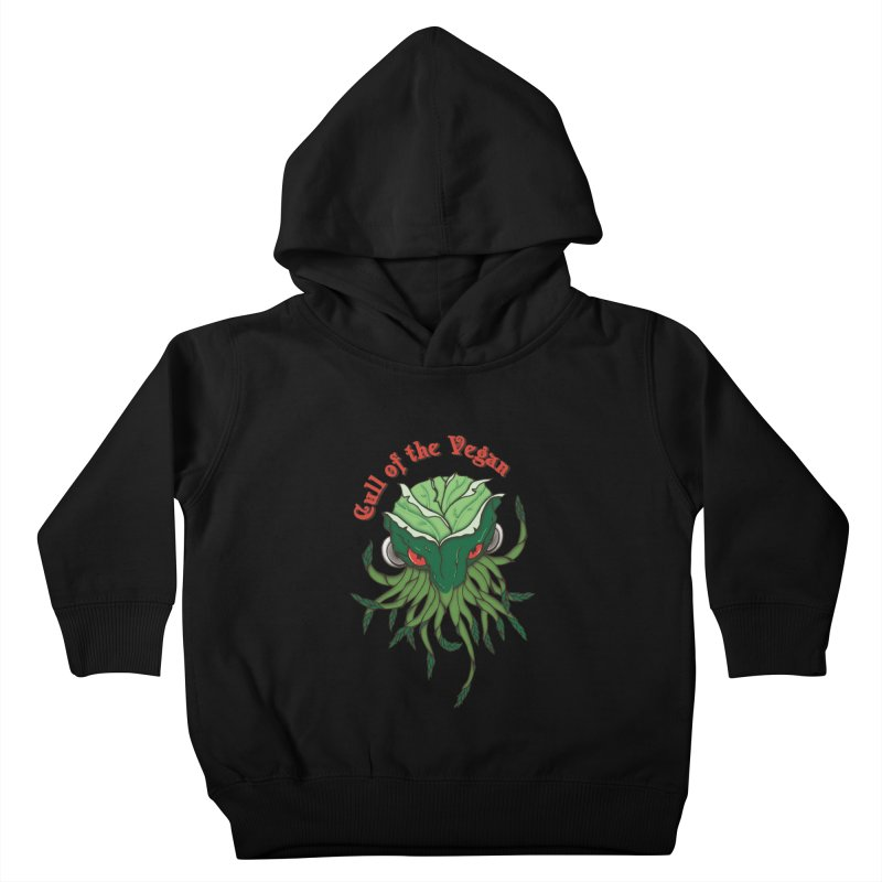Cull of the Vegan Kids Toddler Pullover Hoody by Ben's Shirt Shop of AwesomeShop