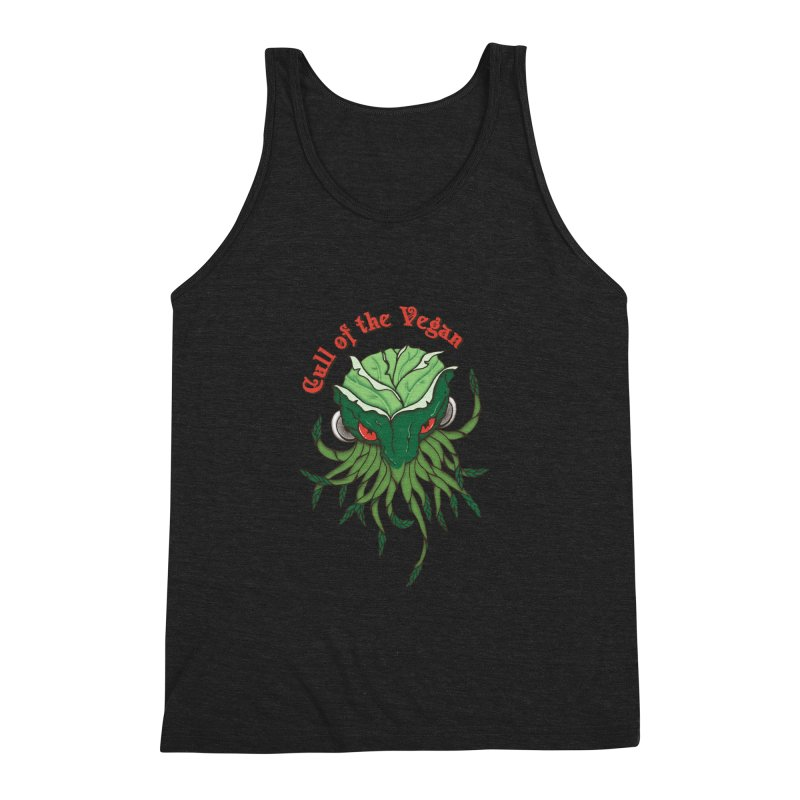Cull of the Vegan Men's Triblend Tank by Ben's Shirt Shop of AwesomeShop