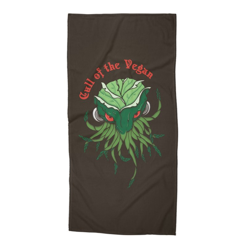 Cull of the Vegan Accessories Beach Towel by Ben's Shirt Shop of AwesomeShop
