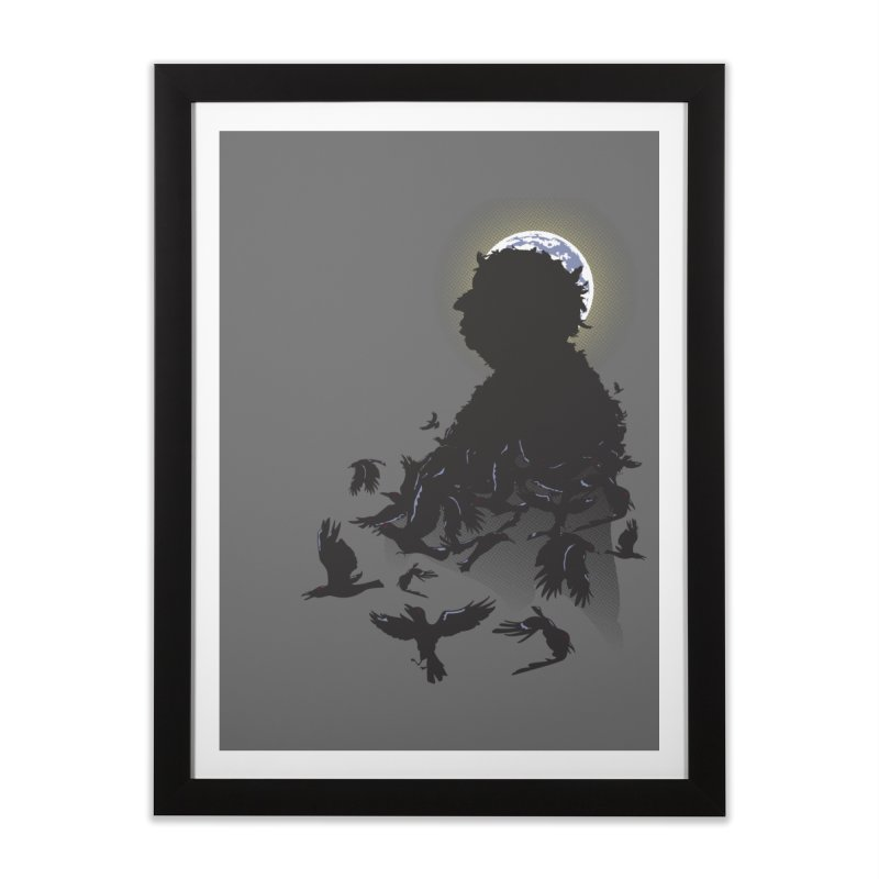 A Tail of Murder Home Framed Fine Art Print by Ben's Shirt Shop of AwesomeShop