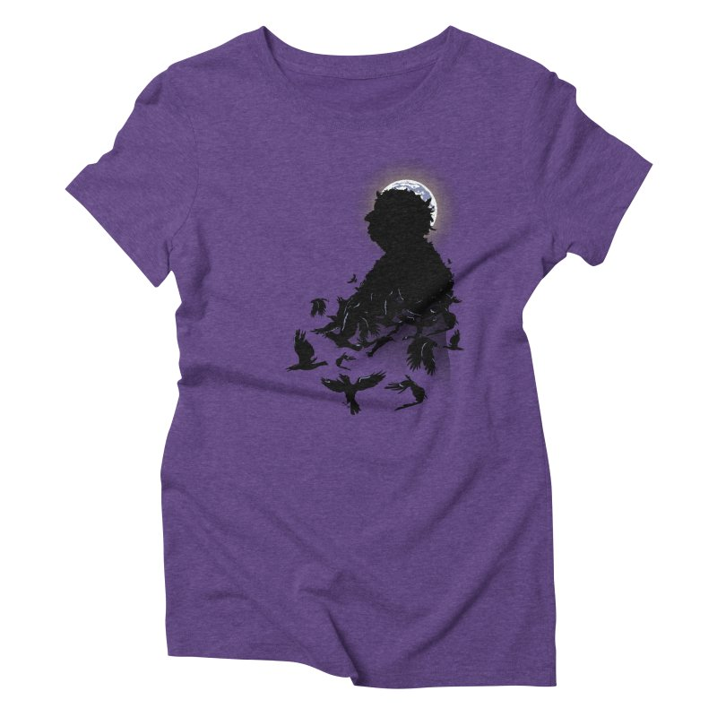 A Tail of Murder Women's Triblend T-shirt by Ben's Shirt Shop of AwesomeShop