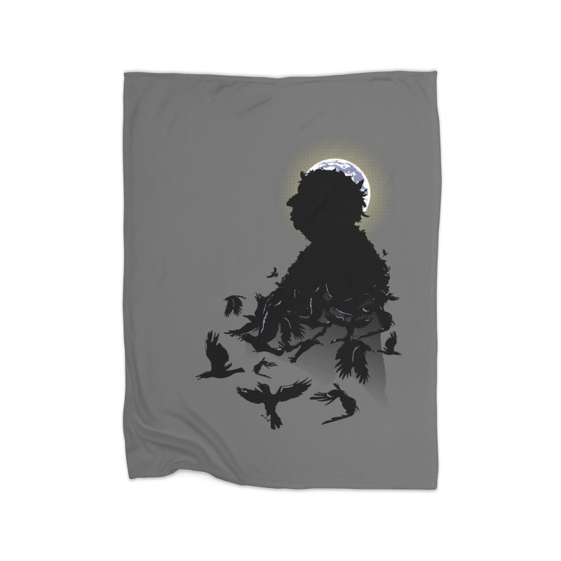 A Tail of Murder Home Fleece Blanket by Ben's Shirt Shop of AwesomeShop