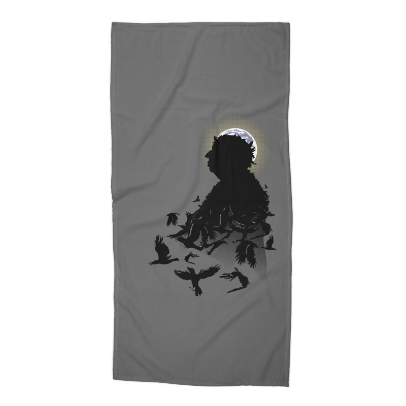 A Tail of Murder Accessories Beach Towel by Ben's Shirt Shop of AwesomeShop