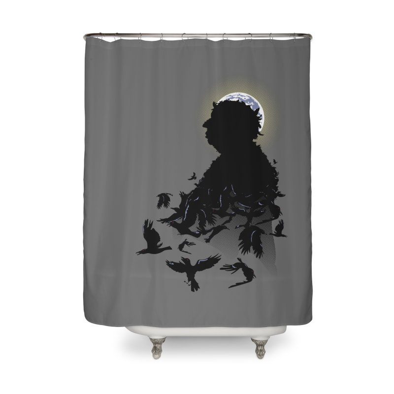 A Tail of Murder Home Shower Curtain by Ben's Shirt Shop of AwesomeShop
