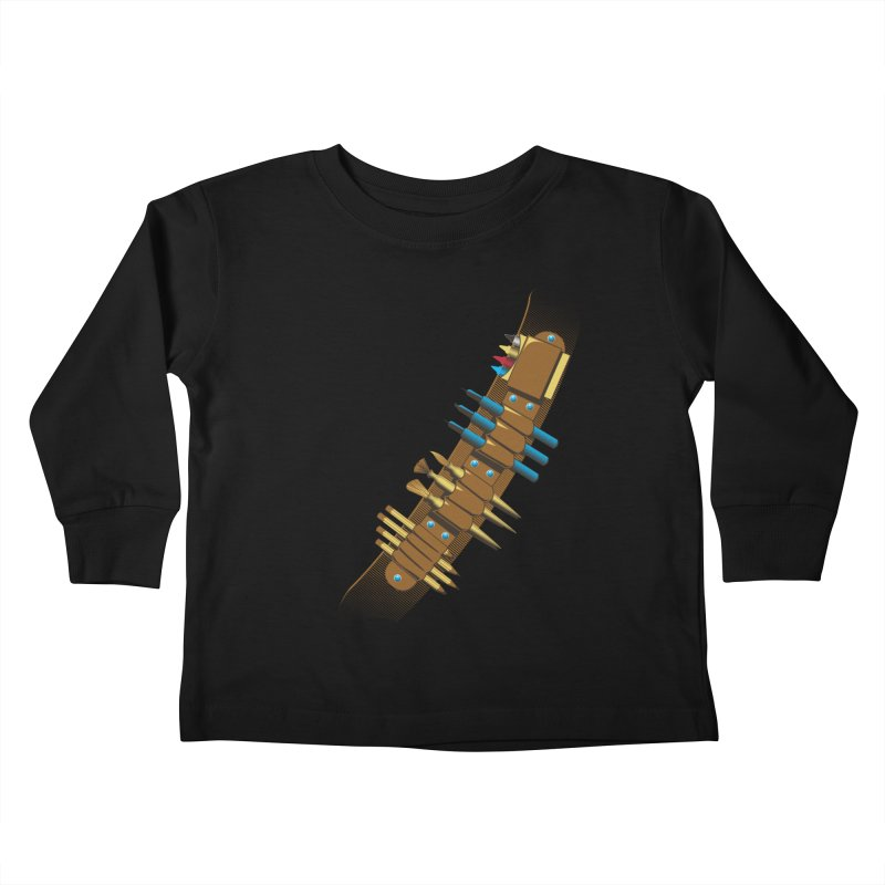 Utility Belt of Design Kids Toddler Longsleeve T-Shirt by Ben's Shirt Shop of AwesomeShop