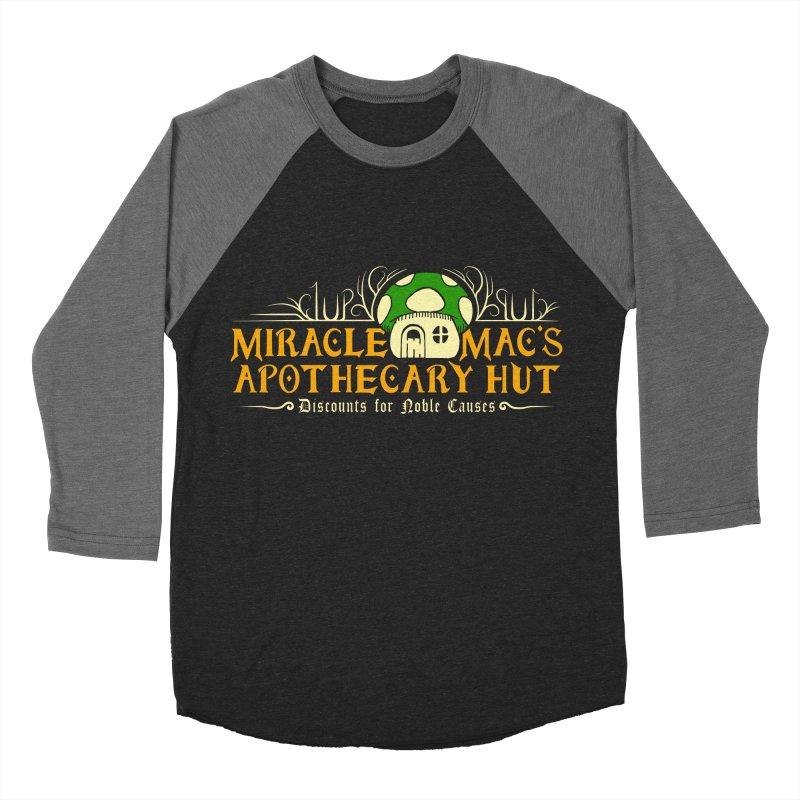 Miracle Mac's Men's Baseball Triblend T-Shirt by Ben's Shirt Shop of AwesomeShop