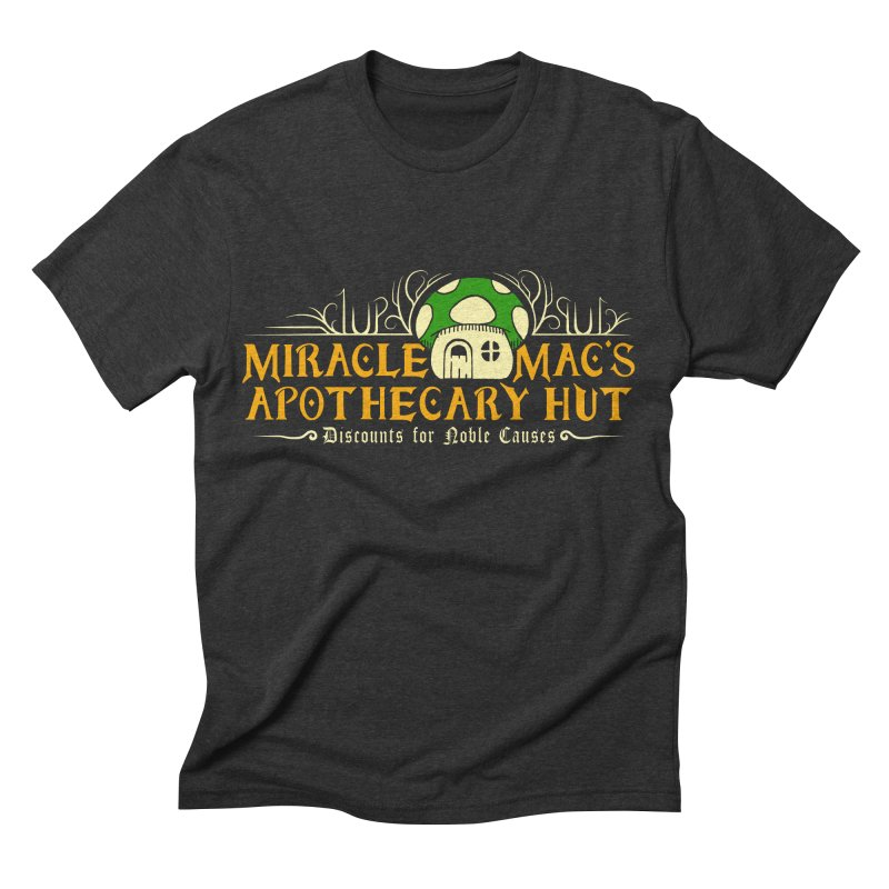 Miracle Mac's Men's Triblend T-shirt by Ben's Shirt Shop of AwesomeShop