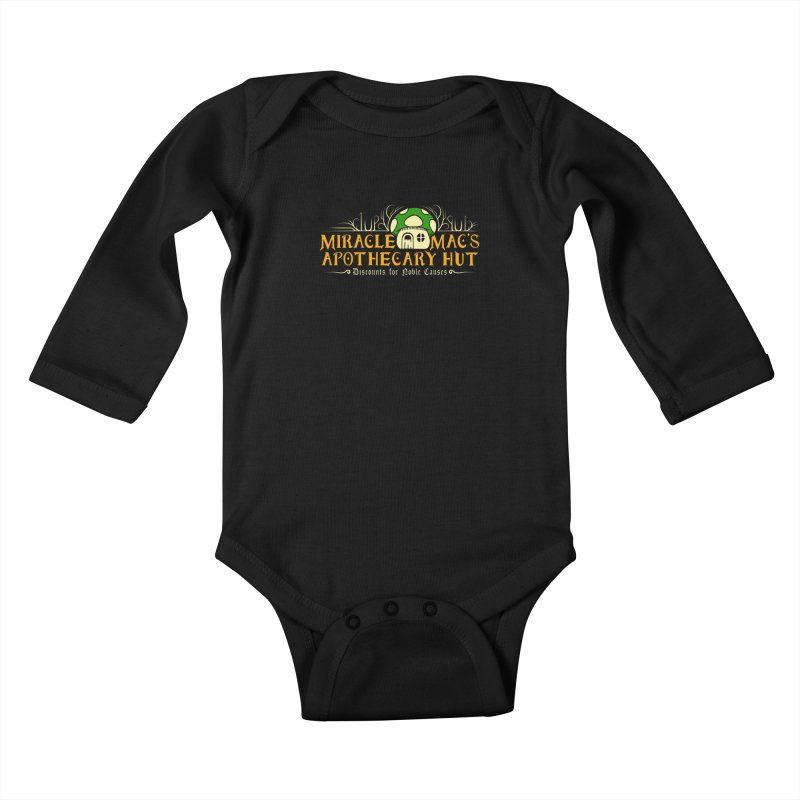Miracle Mac's Kids Baby Longsleeve Bodysuit by Ben's Shirt Shop of AwesomeShop