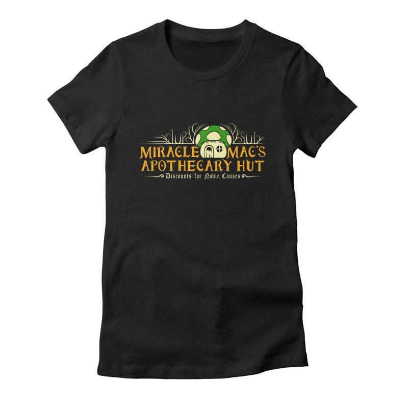Miracle Mac's Women's Fitted T-Shirt by Ben's Shirt Shop of AwesomeShop