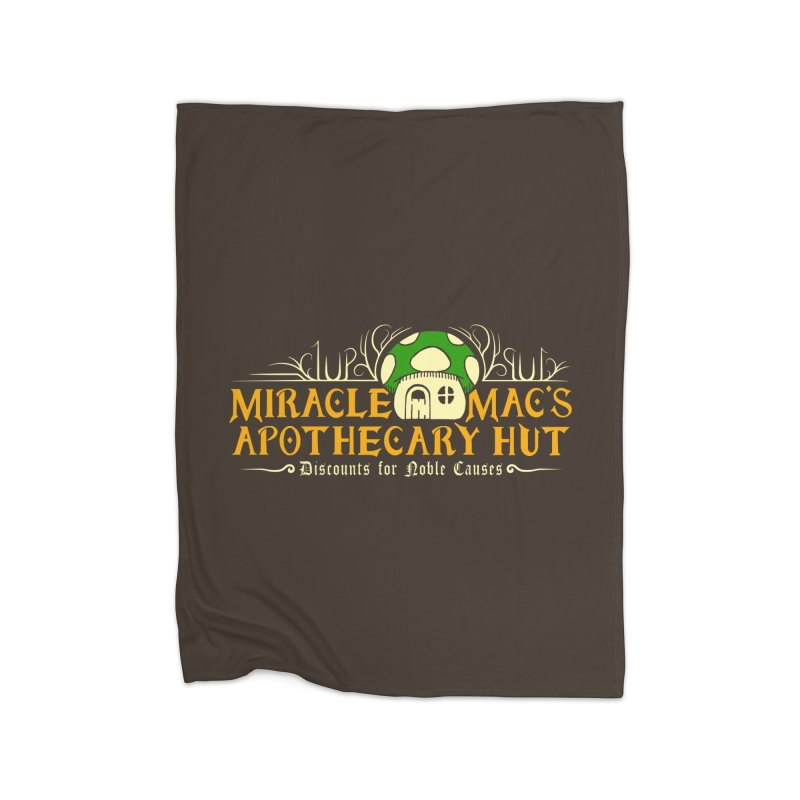 Miracle Mac's Home Fleece Blanket by Ben's Shirt Shop of AwesomeShop