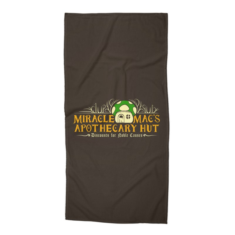 Miracle Mac's Accessories Beach Towel by Ben's Shirt Shop of AwesomeShop
