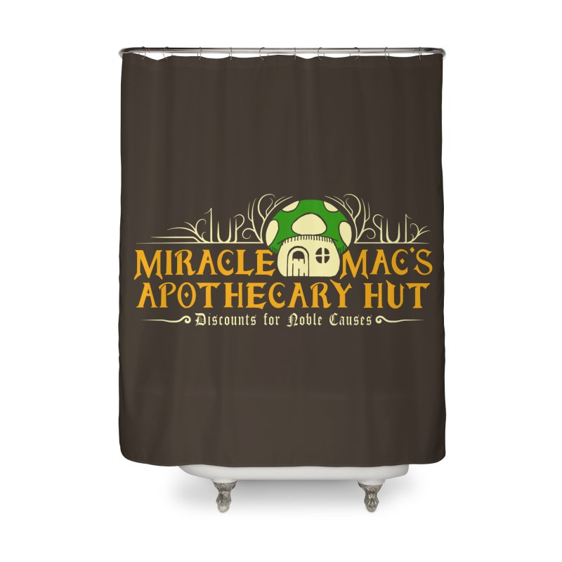 Miracle Mac's Home Shower Curtain by Ben's Shirt Shop of AwesomeShop