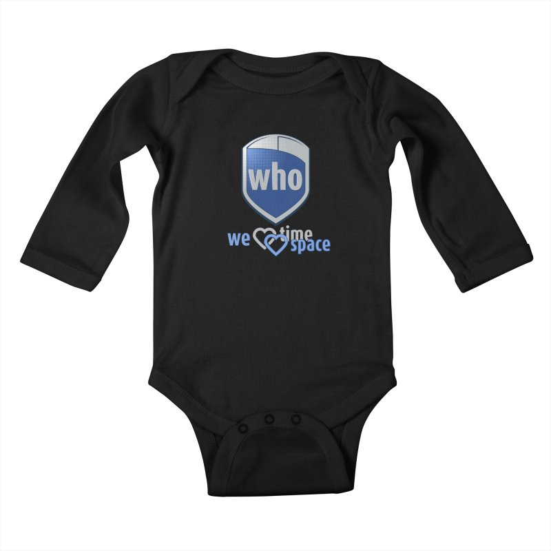 Who Delivery Service Kids Baby Longsleeve Bodysuit by Ben's Shirt Shop of AwesomeShop