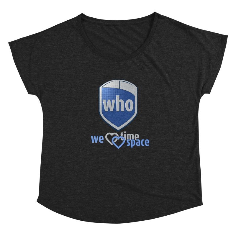 Who Delivery Service Women's Dolman by Ben's Shirt Shop of AwesomeShop